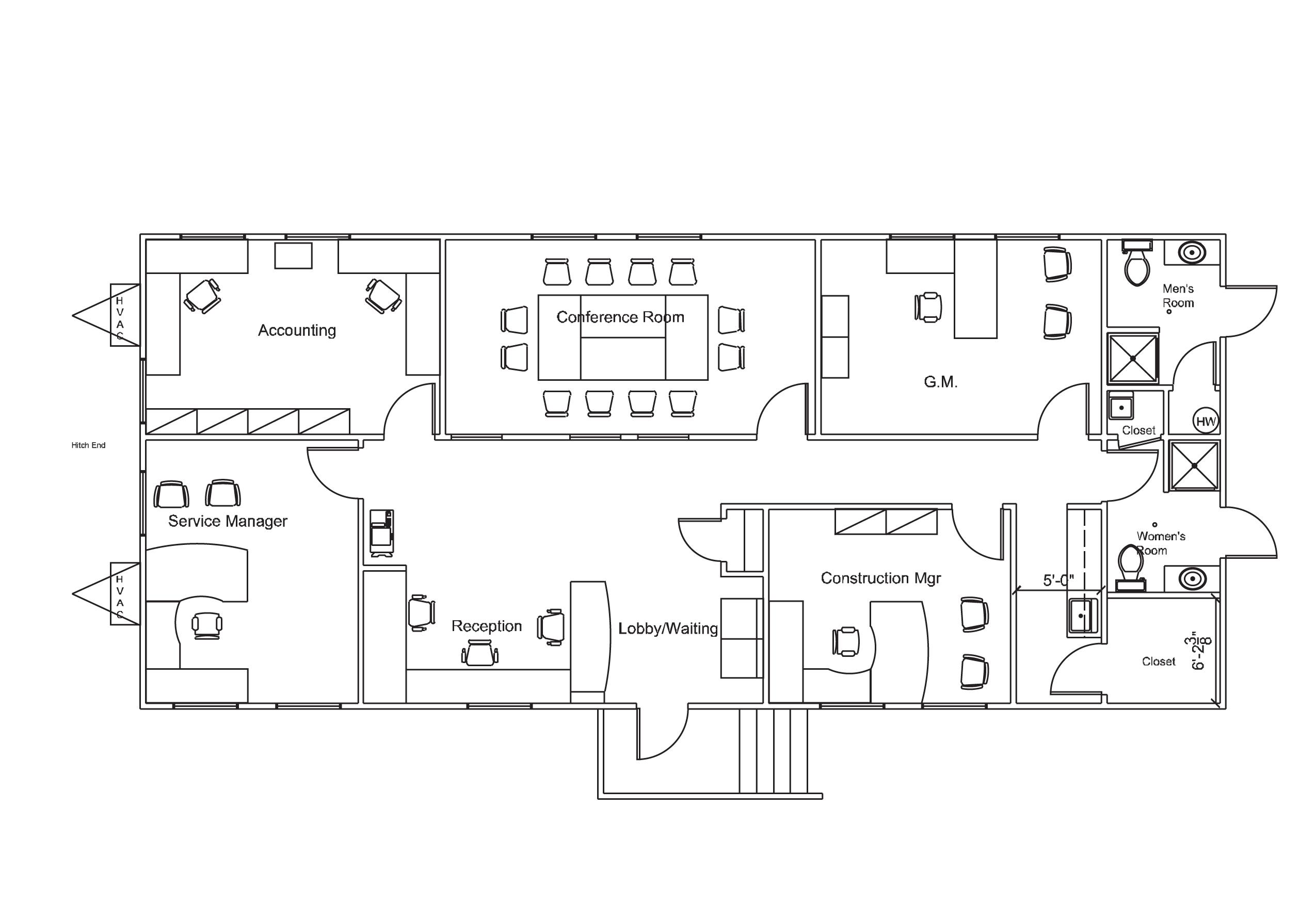 Modular Building Drawing 2